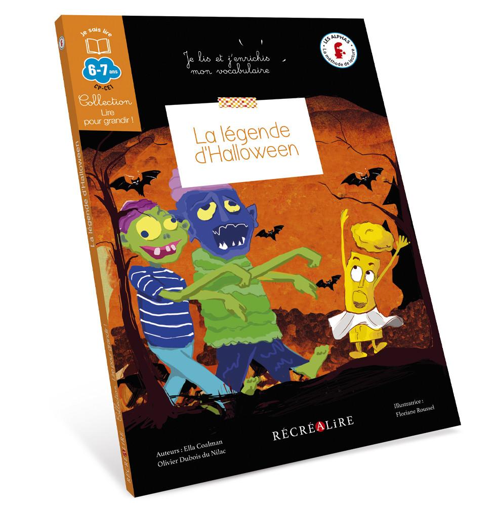 couverture legende halloween alphas