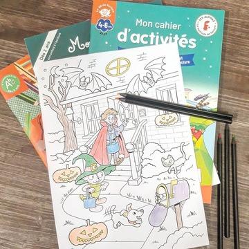 [JEUDI COULISSES]  Malgré la situation actuelle, nous espérons que certains enfants pourront fêter Halloween déguisés, même en étant à la maison !  Donnez-leur l'occasion de colorier un joli dessin d'Halloween avec Petit Malin, le gulu et le chiot Julius !  RDV sur notre site www.editionsrecrealire.com, onglet LES ALPHAS > LES RESSOURCES > Coloriages afin de le télécharger et d'en découvrir d'autres !  #lesalphasofficiel #lesalphas #methode #lecture #recrealire #edition #pedagogie #apprentissage #enfants #lire #halloween #dessin #coloriage #couleur #citrouille