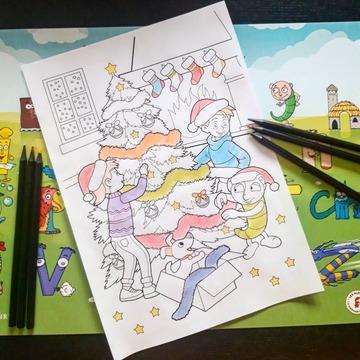 [JEUDI COULISSES]  Le mois de décembre est arrivé, mais celui-ci peut paraître très long pour les enfants...  Afin de les aider à faire le décompte des jours tout en patientant, téléchargez notre coloriage de Noël pour donner des couleurs à Petit Malin, Noémie, le gulu et le chiot Julius et leur permettre de décorer ce joli sapin !  RDV sur notre site www.editionsrecrealire.com, onglet LES ALPHAS > LES RESSOURCES > Coloriages afin de le télécharger !  Une fois celui-ci colorié par les enfants, n'hésitez pas à partager leurs réalisations sur les réseaux en nous identifiant !  #lesalphasofficiel #lesalphas #methode #lecture #recrealire #editionsrecrealire #edition #pedagogie #apprentissage #enfants #lire #coloriage #livres #noel #sapin #couleur #dessin