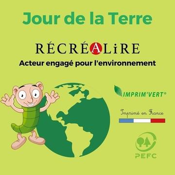 """[JEUDI COULISSES]  Aujourd'hui a lieu le Jour de la Terre ! Une belle occasion pour échanger avec les enfants sur la protection de l'environnement, l'importance de la nature, le réchauffement climatique, les déchets...  Le respect de l'environnement est une valeur essentielle pour Récréalire qui guide les choix de notre maison d'édition dans sa production d'outils des Alphas.  En tant qu'acteur engagé pour l'environnement, nous donnons la priorité aux productions françaises ou européennes autant que possible afin de limiter les transports et émissions de CO2, et travaillons avec des partenaires qui partagent nos valeurs en utilisant des procédés de fabrication respectueux de la nature (utilisation d'une encre végétale pour Mon premier coffret des Alphas notamment).  Soucieux de l'environnement, notre volonté est d'aller plus loin dans notre engagement en favorisant une production durable, comme nous l'avons fait avec notre collection """"Apprendre à lire avec LES ALPHAS"""" : fabriqués en France, les ouvrages qui la composent ont été imprimés avec du papier répondant à des contraintes écologiques et du bois issu de forêts gérées durablement (label PEFC) par un imprimeur labellisé Imprim'vert. Nous continuerons à vous proposer des outils qui suivent cet engagement fort !  #lesalphasofficiel #lesalphas #methode #lecture #recrealire #editionsrecrealire #edition #pedagogie #apprendre #lire #enfant #ecologie #livre #terre #environnement #durable #papier #ecolo #nature"""